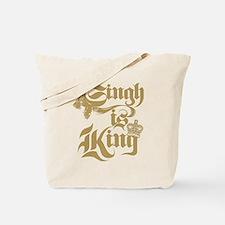 Singh Is King Tote Bag