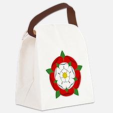 Heraldic Rose Canvas Lunch Bag