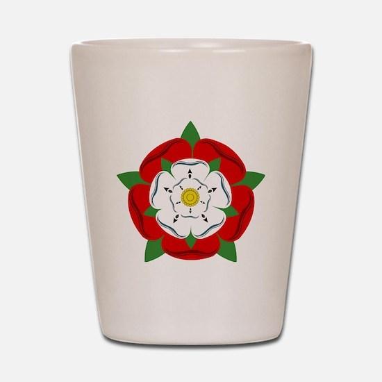 Heraldic Rose Shot Glass