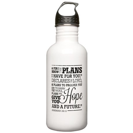 Hope and a Future Stainless Water Bottle 1.0L