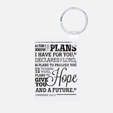Hope and a Future Keychains