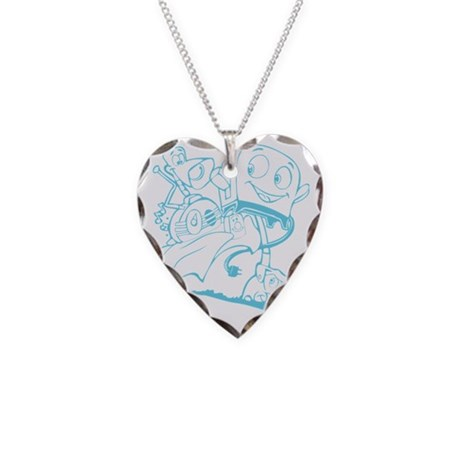 The Brave Little Toaster (Lig Necklace Heart Charm