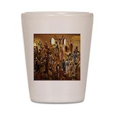 cal_pentecost Shot Glass