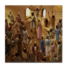 cal_pentecost Tile Coaster