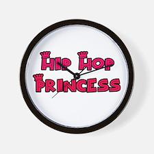 Hip Hop Princess Wall Clock