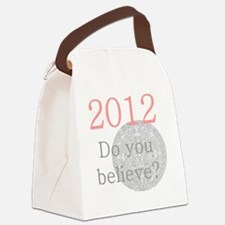 2012 Do you believe? Canvas Lunch Bag
