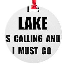 Lake Calling Ornament