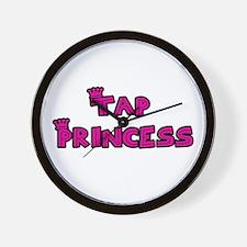 Tap Princess Wall Clock