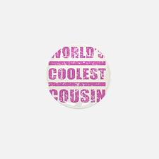 Worlds Coolest Cousin Mini Button