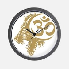Singh Aum 1 Wall Clock