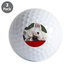 Dreamy French Bulldog Golf Ball