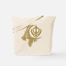 Singh Sikh Symbol 1 Tote Bag