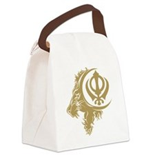 Singh Sikh Symbol 1 Canvas Lunch Bag