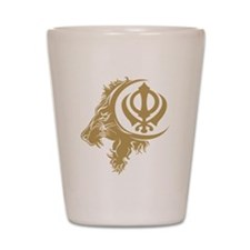 Singh Sikh Symbol 1 Shot Glass