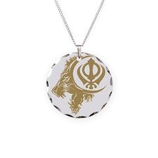 Singh Sikh Symbol 1 Necklace
