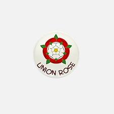 Union Rose Mini Button