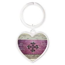 forum gathering Heart Keychain