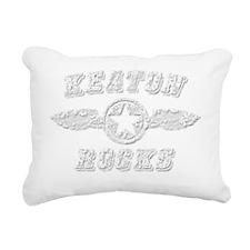KEATON ROCKS Rectangular Canvas Pillow