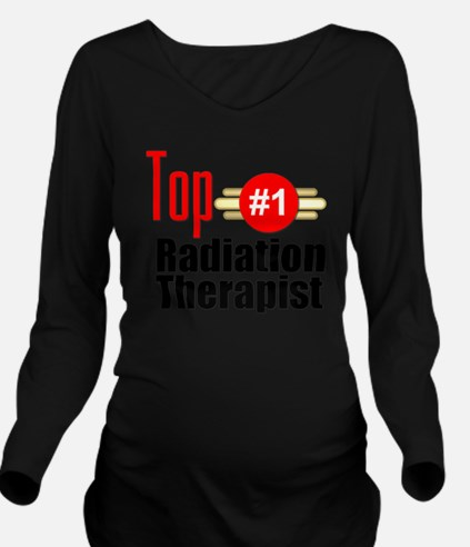 Top Radiation Therap Long Sleeve Maternity T-Shirt
