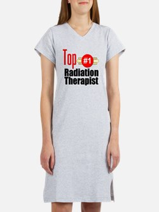 Top Radiation Therapist  Women's Nightshirt