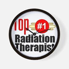 Top Radiation Therapist  Wall Clock