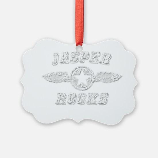 JASPER ROCKS Ornament