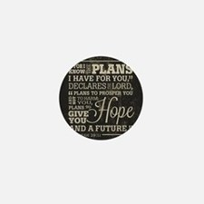 Hope and a Future Mini Button