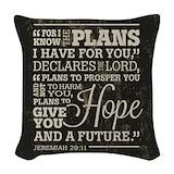Christian Woven Pillows