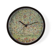Flowering Tree Wall Clock