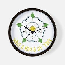Rose Of York Wall Clock
