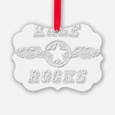 KALE ROCKS Ornament