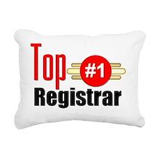 Top Registrar  Rectangular Canvas Pillow