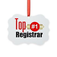 Top Registrar  Ornament