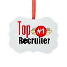 Top Recruiter  Picture Ornament