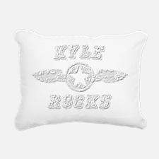 KYLE ROCKS Rectangular Canvas Pillow