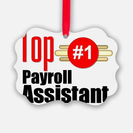 Top Payroll Assistant  Ornament