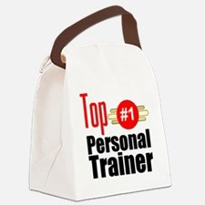 Top Personal Trainer  Canvas Lunch Bag