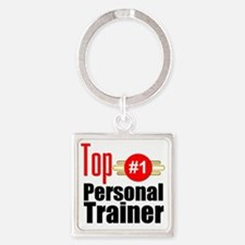 Top Personal Trainer  Square Keychain