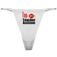 Top Teacher Assistant  Classic Thong