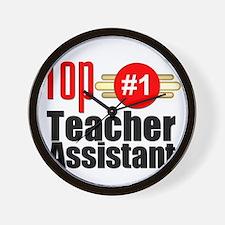 Top Teacher Assistant  Wall Clock