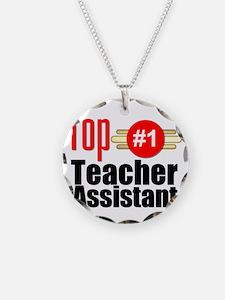 Top Teacher Assistant  Necklace