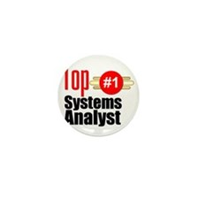Top Systems Analyst  Mini Button