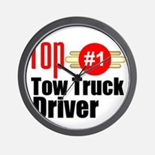 Top Tow Truck Driver  Wall Clock