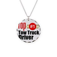 Top Tow Truck Driver  Necklace