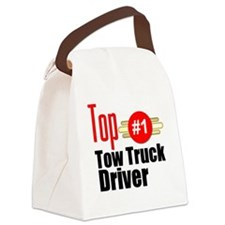 Top Tow Truck Driver  Canvas Lunch Bag