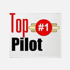 Top Pilot  Throw Blanket