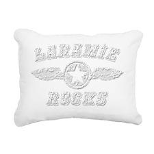 LARAMIE ROCKS Rectangular Canvas Pillow