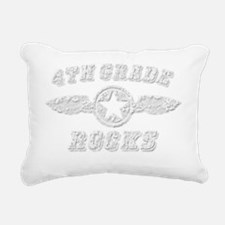 4TH GRADE ROCKS Rectangular Canvas Pillow