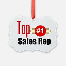 Top Sales Rep  Ornament