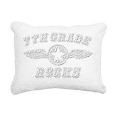 7TH GRADE ROCKS Rectangular Canvas Pillow